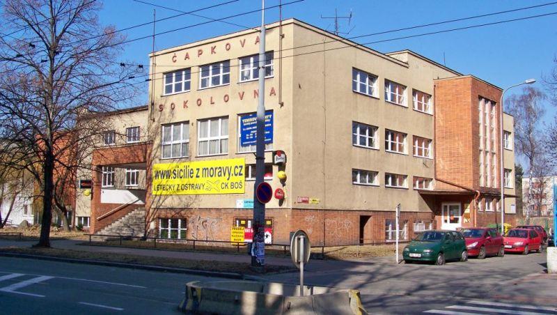 Čapkova sokolovna v Ostravě