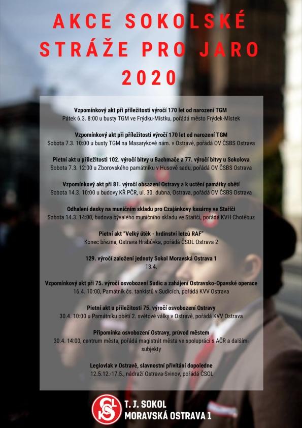 Akce sokolské stráže pro 2020