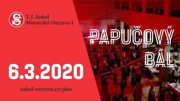 Papučový bál 2020 Ostrava